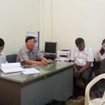 CM and Business Process Survey at Bantey Meanchey Provincial Treasury